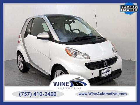 Cars For Sale In Laredo Tx >> 2013 Smart Fortwo For Sale In Chesapeake Va