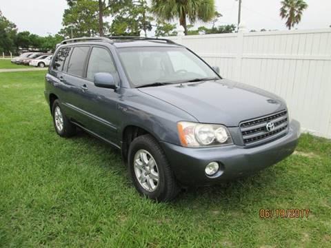 2002 Toyota Highlander for sale in Brooksville, FL