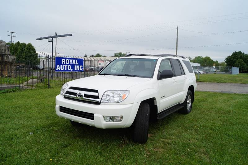 2005 Toyota 4Runner for sale at Royal Auto Inc. in Columbus OH