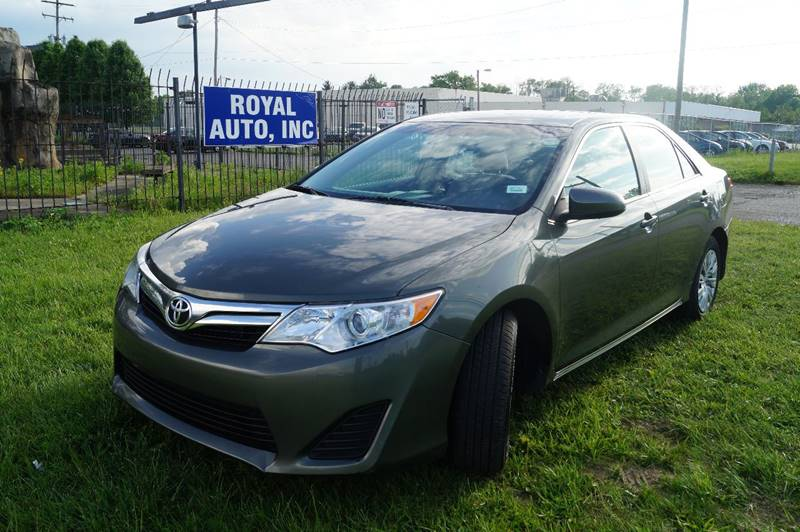 2012 Toyota Camry for sale at Royal Auto Inc. in Columbus OH