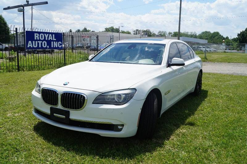 2009 BMW 7 Series for sale at Royal Auto Inc. in Columbus OH
