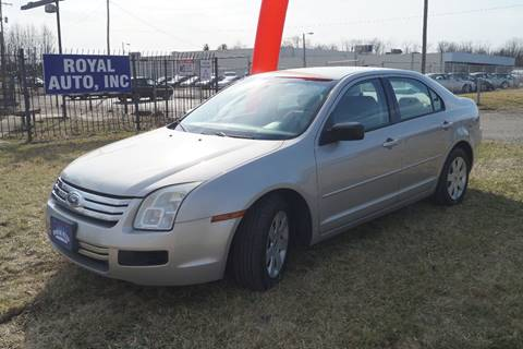 2008 Ford Fusion for sale at Royal Auto Inc. in Columbus OH