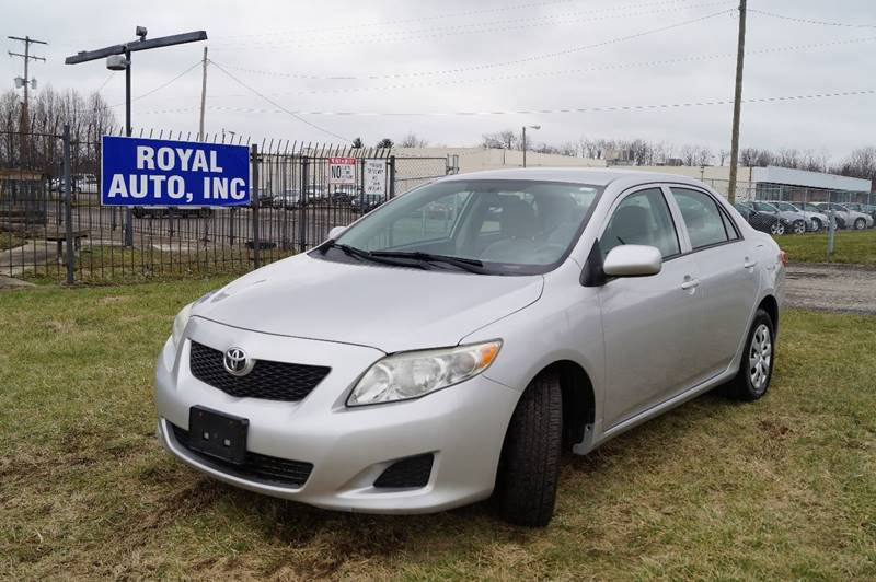 2010 Toyota Corolla for sale at Royal Auto Inc. in Columbus OH