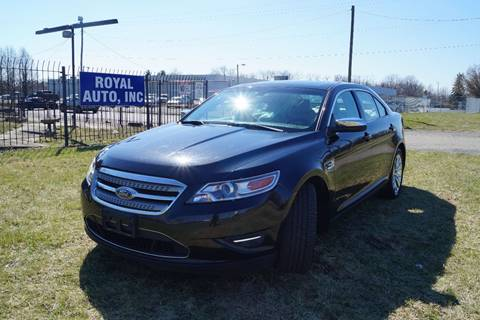 2010 Ford Taurus for sale at Royal Auto Inc. in Columbus OH