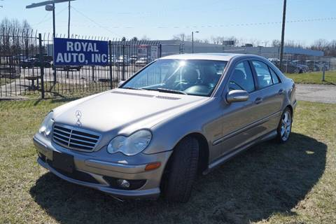 2005 Mercedes-Benz C-Class for sale at Royal Auto Inc. in Columbus OH