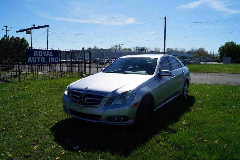 2010 Mercedes-Benz E-Class for sale at Royal Auto Inc. in Columbus OH