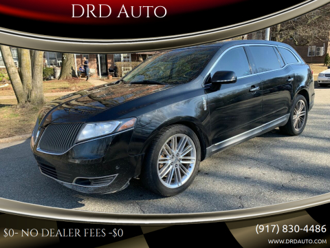 2013 Lincoln MKT for sale at DRD Auto in Flushing NY