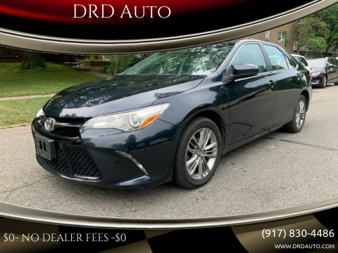 2016 Toyota Camry for sale at DRD Auto in Flushing NY