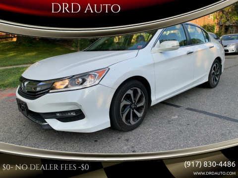 2016 Honda Accord for sale at DRD Auto in Flushing NY