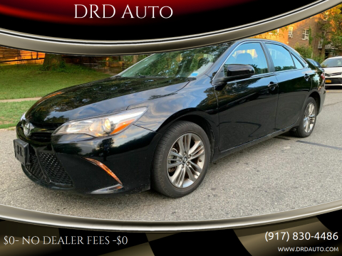 2017 Toyota Camry for sale at DRD Auto in Flushing NY