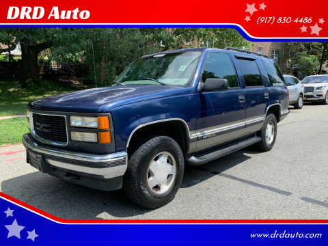 1999 GMC Yukon for sale at DRD Auto in Flushing NY