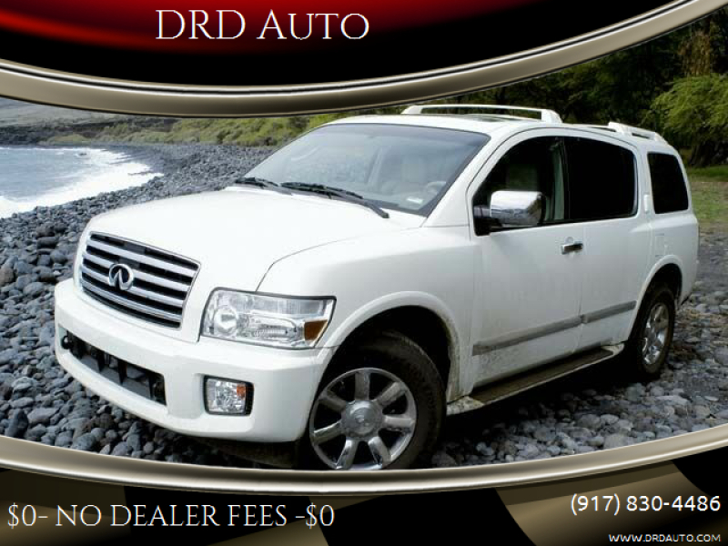 2004 Infiniti QX56 for sale at DRD Auto in Flushing NY