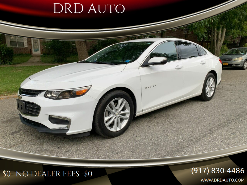 2016 Chevrolet Malibu for sale at DRD Auto in Flushing NY