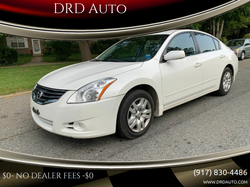 2012 Nissan Altima for sale at DRD Auto in Flushing NY