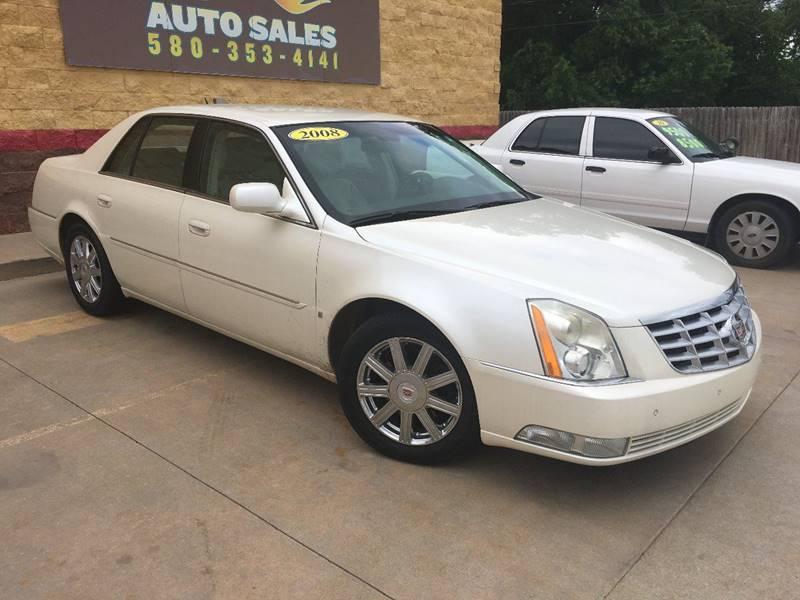 2008 Cadillac DTS 4dr Sedan - Lawton OK
