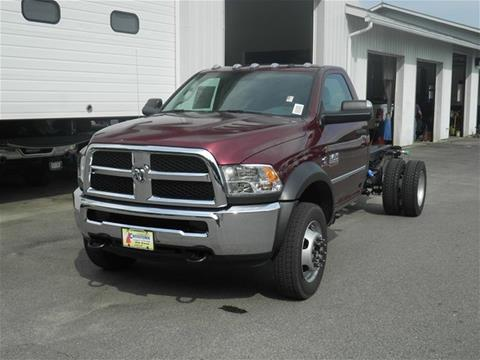 2017 RAM Ram Chassis 5500 for sale in Littleton, NH
