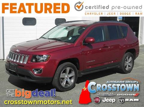 2017 Jeep Compass for sale in Littleton, NH
