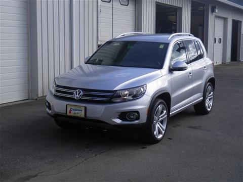 2016 Volkswagen Tiguan for sale in Littleton NH