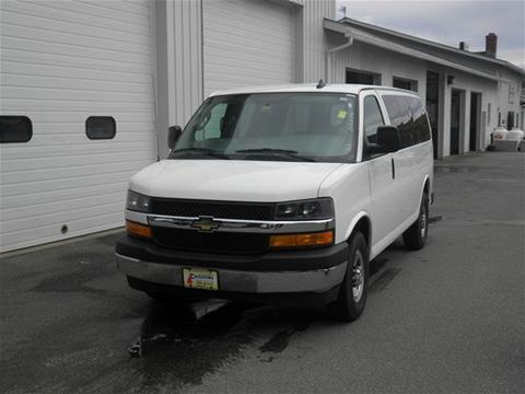 2017 Chevrolet Express Passenger for sale in Littleton NH
