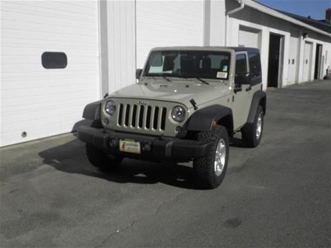 2017 Jeep Wrangler for sale in Littleton NH
