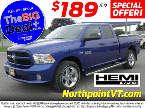 2017 RAM Ram Pickup 1500 for sale in Littleton NH