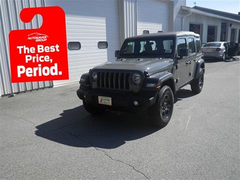 2018 Jeep Wrangler Unlimited for sale in Littleton, NH