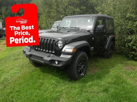 2018 Jeep Wrangler for sale in Littleton, NH