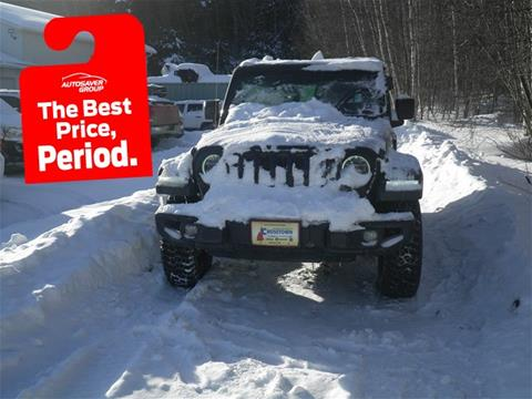 2019 Jeep Wrangler Unlimited for sale in Littleton, NH