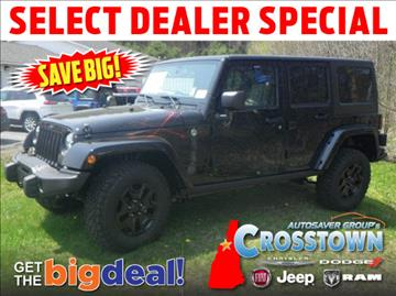2016 Jeep Wrangler Unlimited for sale in Littleton, NH