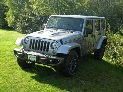 2017 Jeep Wrangler Unlimited for sale in Littleton NH
