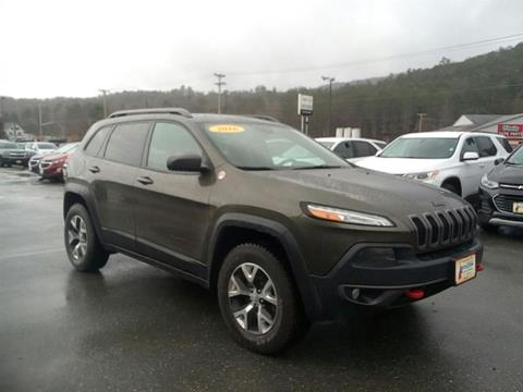 2016 Jeep Cherokee for sale in Littleton, NH