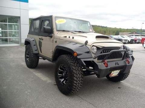 2017 Jeep Wrangler for sale in Littleton, NH