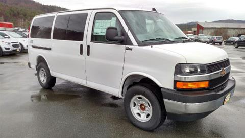 2017 Chevrolet Express Passenger for sale in Littleton, NH