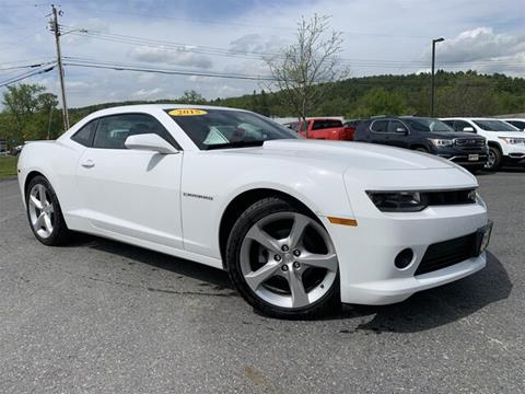2015 Chevrolet Camaro for sale in Berlin, VT