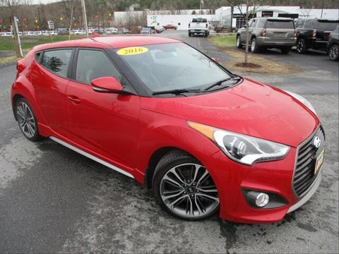 2016 Hyundai Veloster Turbo for sale in Berlin, VT