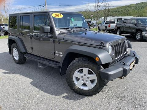 2017 Jeep Wrangler Unlimited for sale in Berlin, VT