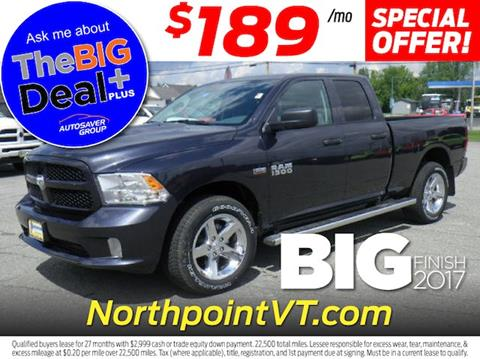 2017 RAM Ram Pickup 1500 for sale in Newport VT