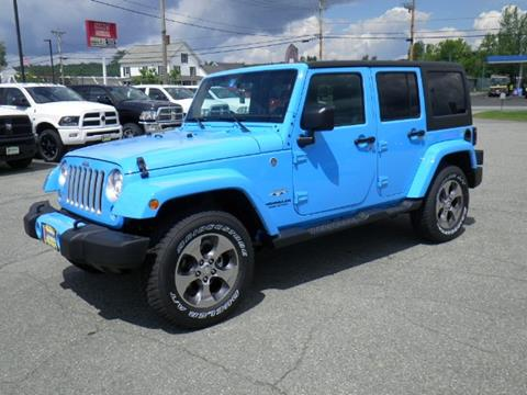 2017 Jeep Wrangler Unlimited for sale in Newport VT