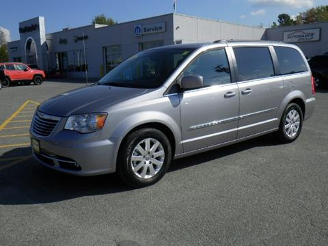 2016 Chrysler Town and Country for sale in Newport VT