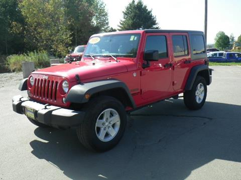 2015 Jeep Wrangler Unlimited for sale in Newport, VT