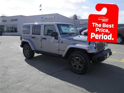 2018 Jeep Wrangler Unlimited for sale in Newport, VT