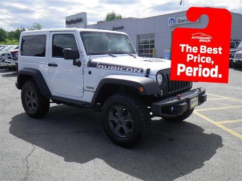 2018 Jeep Wrangler for sale in Newport, VT