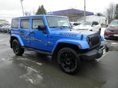 2014 Jeep Wrangler Unlimited for sale in Newport, VT
