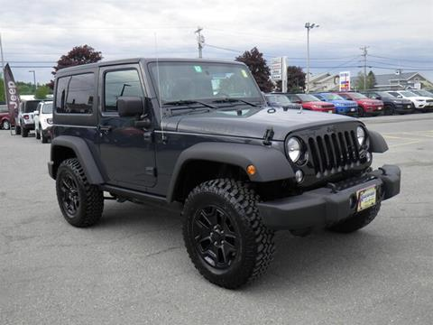 2018 Jeep Wrangler for sale in Newport, VT