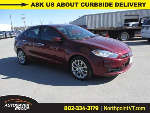 2015 Dodge Dart Limited for sale at NORTHPOINT CHRYSLER DODGE JEEP RAM in Newport VT