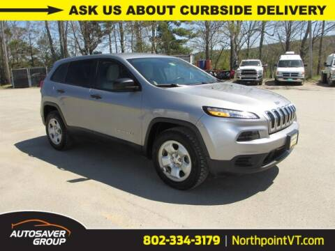 2016 Jeep Cherokee Sport for sale at NORTHPOINT CHRYSLER DODGE JEEP RAM in Newport VT