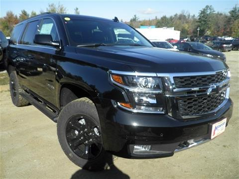 2017 Chevrolet Tahoe for sale in Newport NH