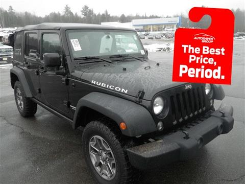 2014 Jeep Wrangler Unlimited for sale in Newport, NH
