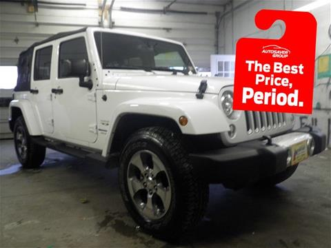 2018 Jeep Wrangler Unlimited for sale in Newport, NH