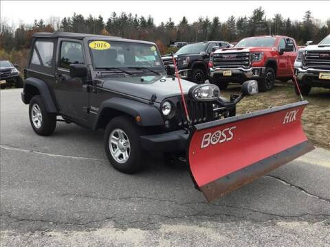 2016 Jeep Wrangler for sale in Newport, NH